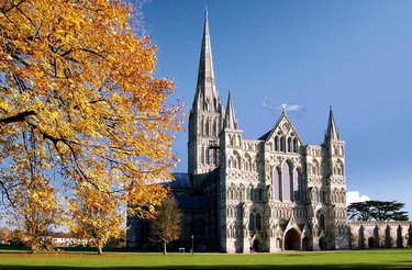 собор в солсбери англия