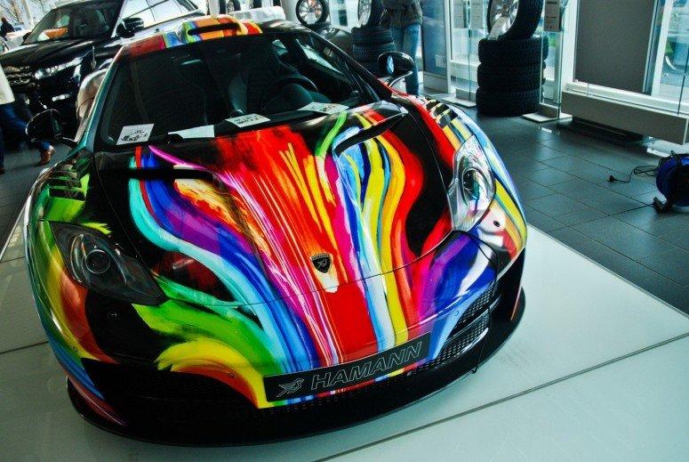 окраска автомобиля по картинке свою творческую