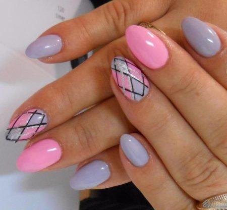 Френч ногти двухцветный фото