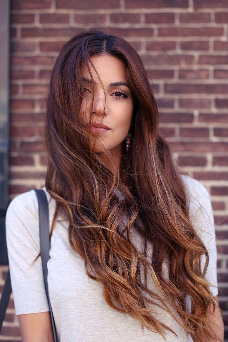 каждой шатуш на темные длинные волосы фото мере взросления