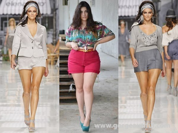 e507e59136 ... How to Wear Shorts best for Your Body Type - gorgeautiful.com Shorts  for Pear