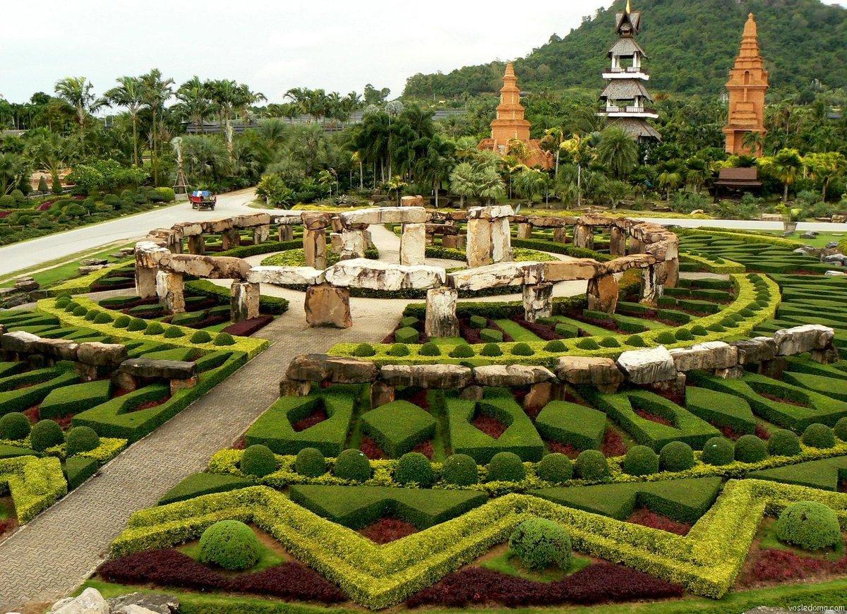 тропический парк нонг нуч фото