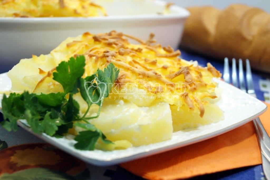 Картофельная запеканка без молока