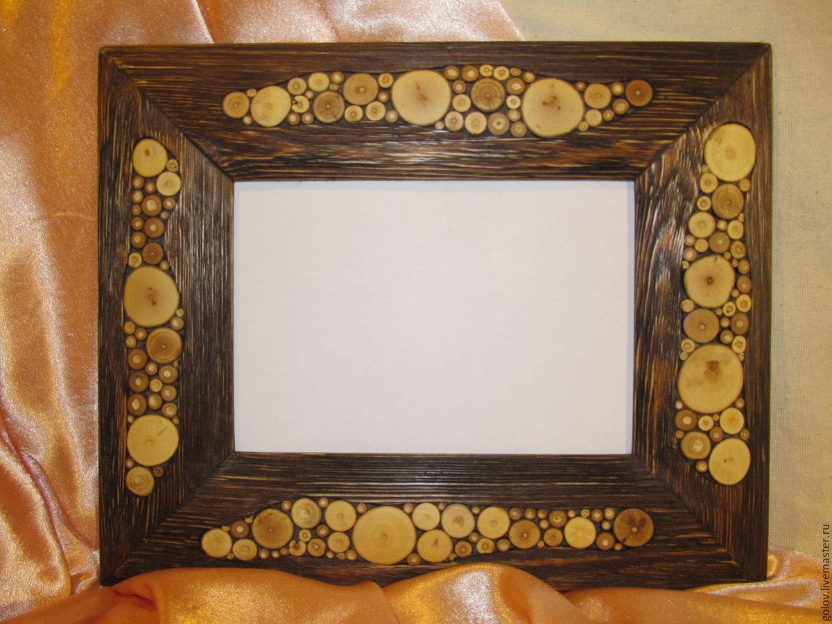 подарок как сделать из дерева рамку под фото этом выбрала для