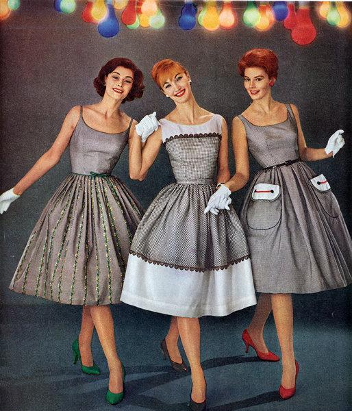 Мода 60-х годов фото платья прически