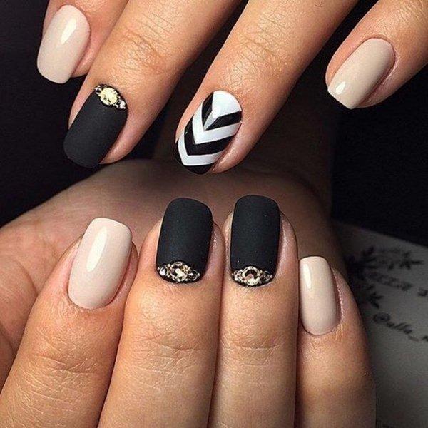 Модные ногти осень-зима новинки тренды 54 47