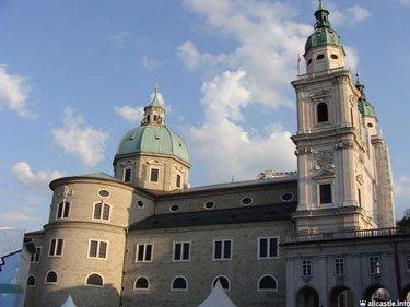 австрия зальцбург церковь