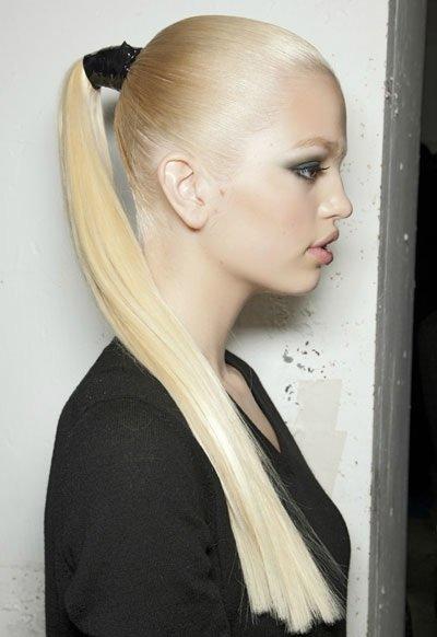 длинные светлые волосы фото