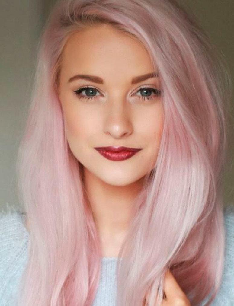 Смотреть розовая блондинка 11