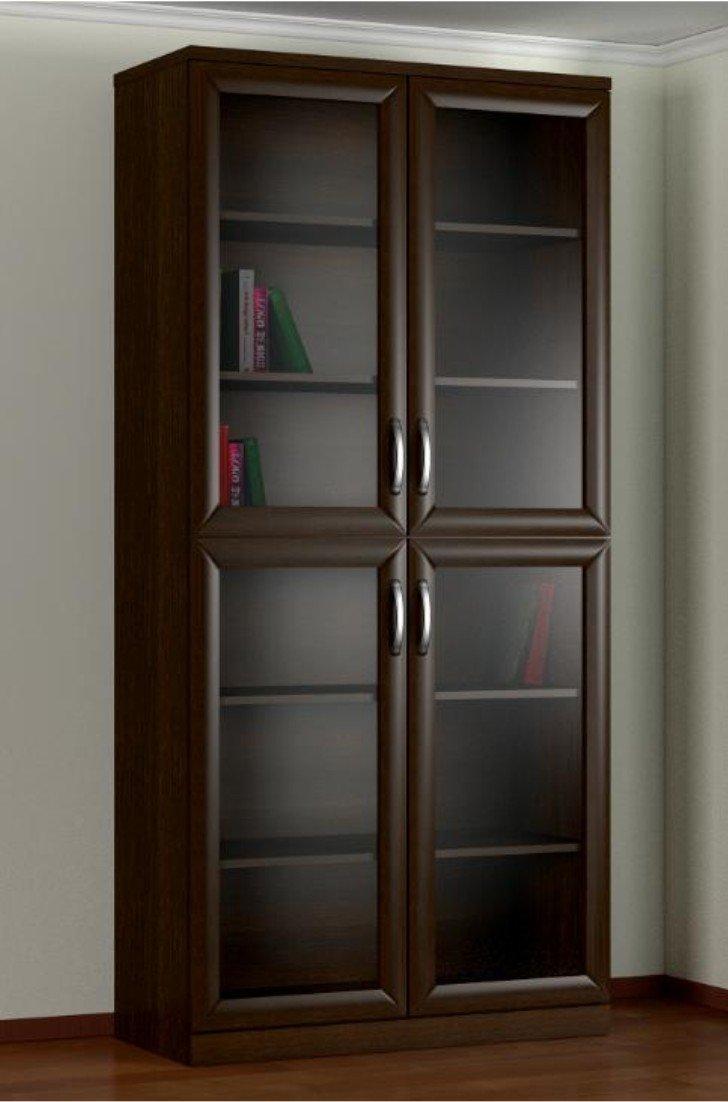 Шкаф книжный 2.2 b 2-х створчатый изготовлен из высококачест.