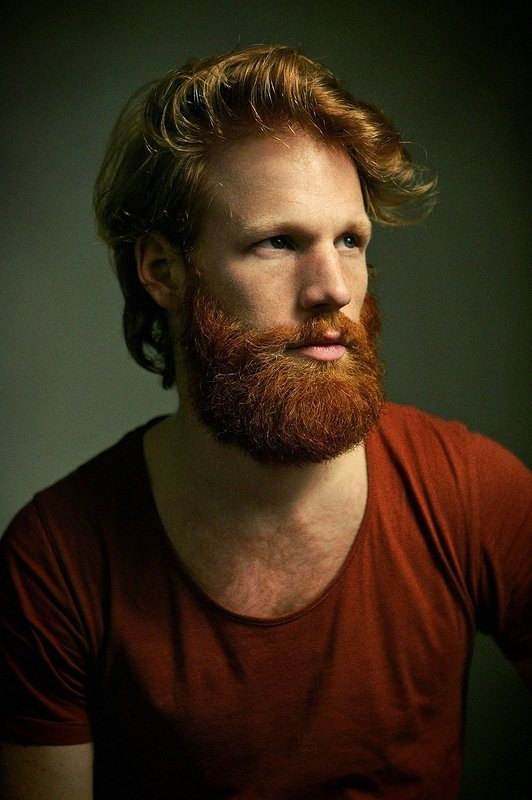 Red haired hobo man — 2
