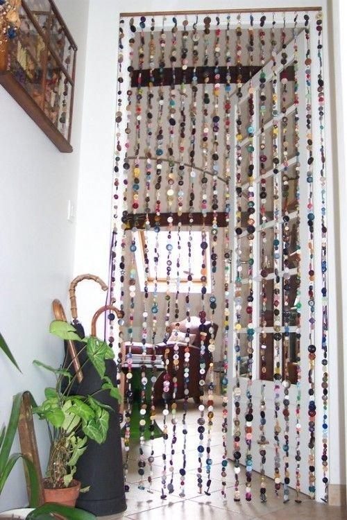 Как сделать шторы из старых открыток