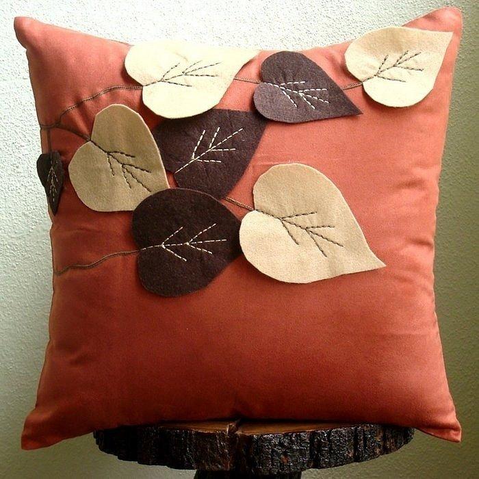 Как сшить декоративные наволочки на диванные подушки