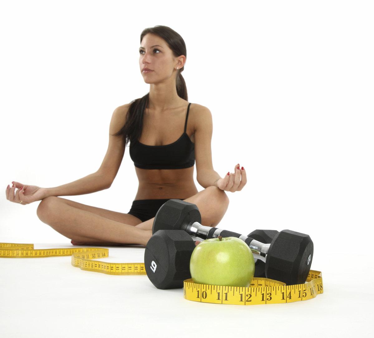 Фитнес поможет похудеть