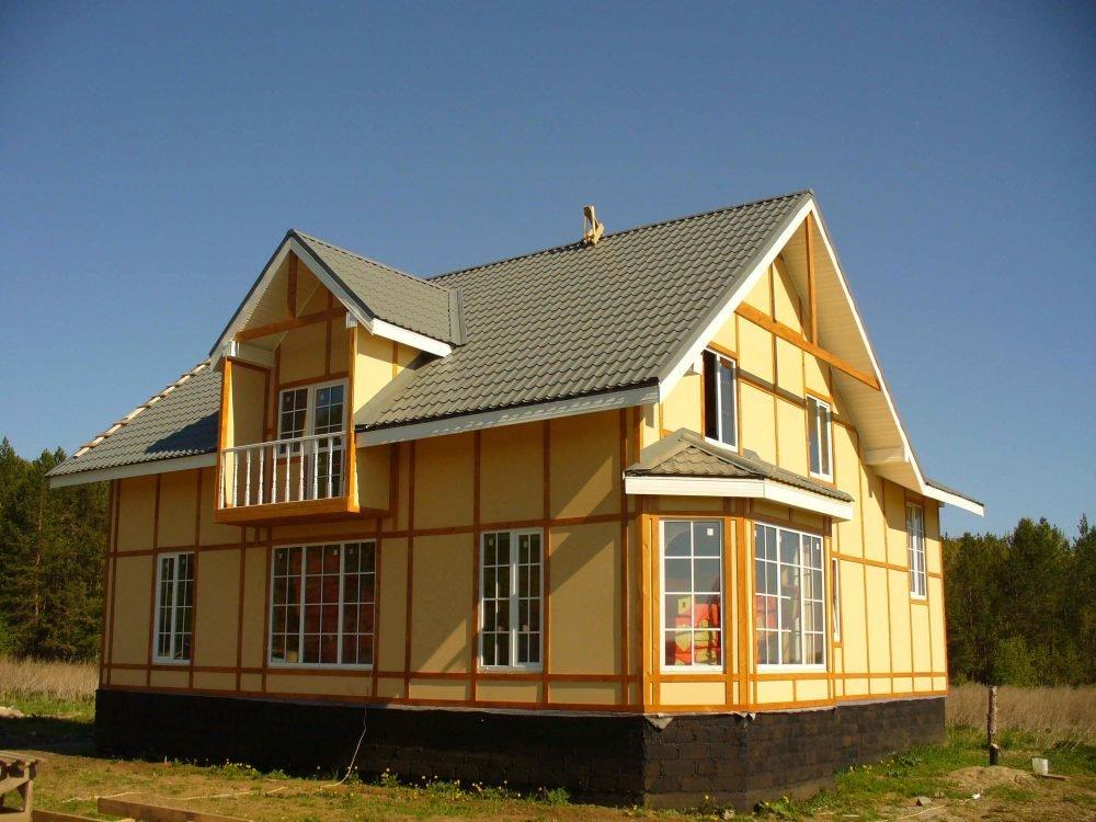 Стоимость строительства каркасного дома под ключ в самаре