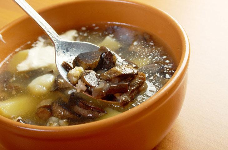 Несколько простых ингредиентов и немного времени — это все, что вам понадобится, чтобы приготовить наваристый и ароматный суп из белых грибов с перловкой, настоящее традиционное русское блюдо.