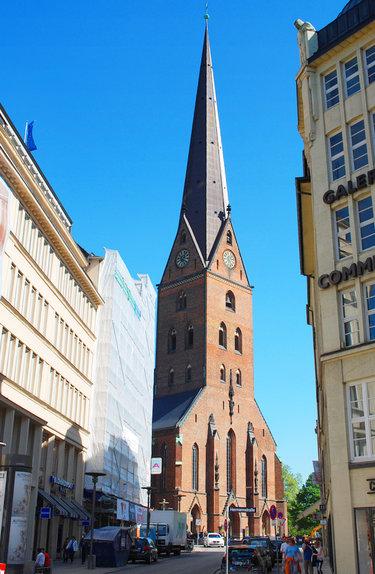 гамбург церковь