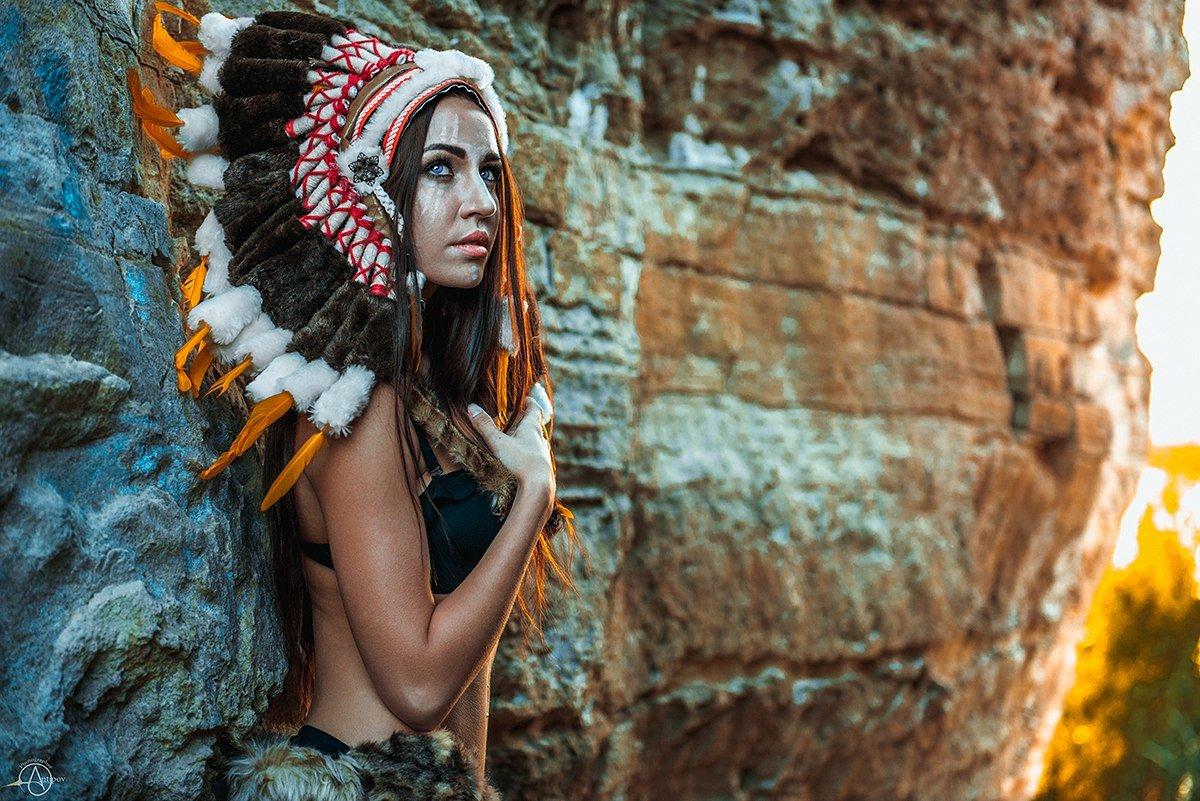 Ethnic girl wallpapers — photo 13