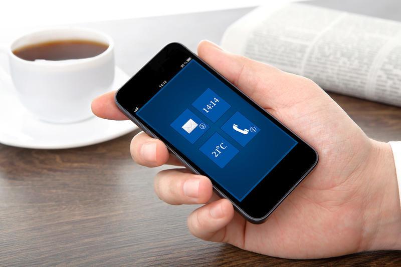 Современный смартфон