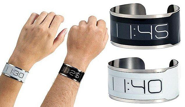 Orang Muo: June 2013 Jam tangan paling nipis di dunia dibuat daripada keluli fleksibel dengan  bateri yang tahan lama sehingga 15 tahun.