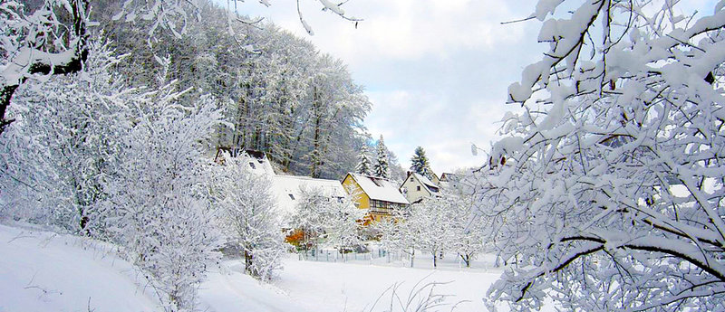 Зимняя сказка курорта Предял.