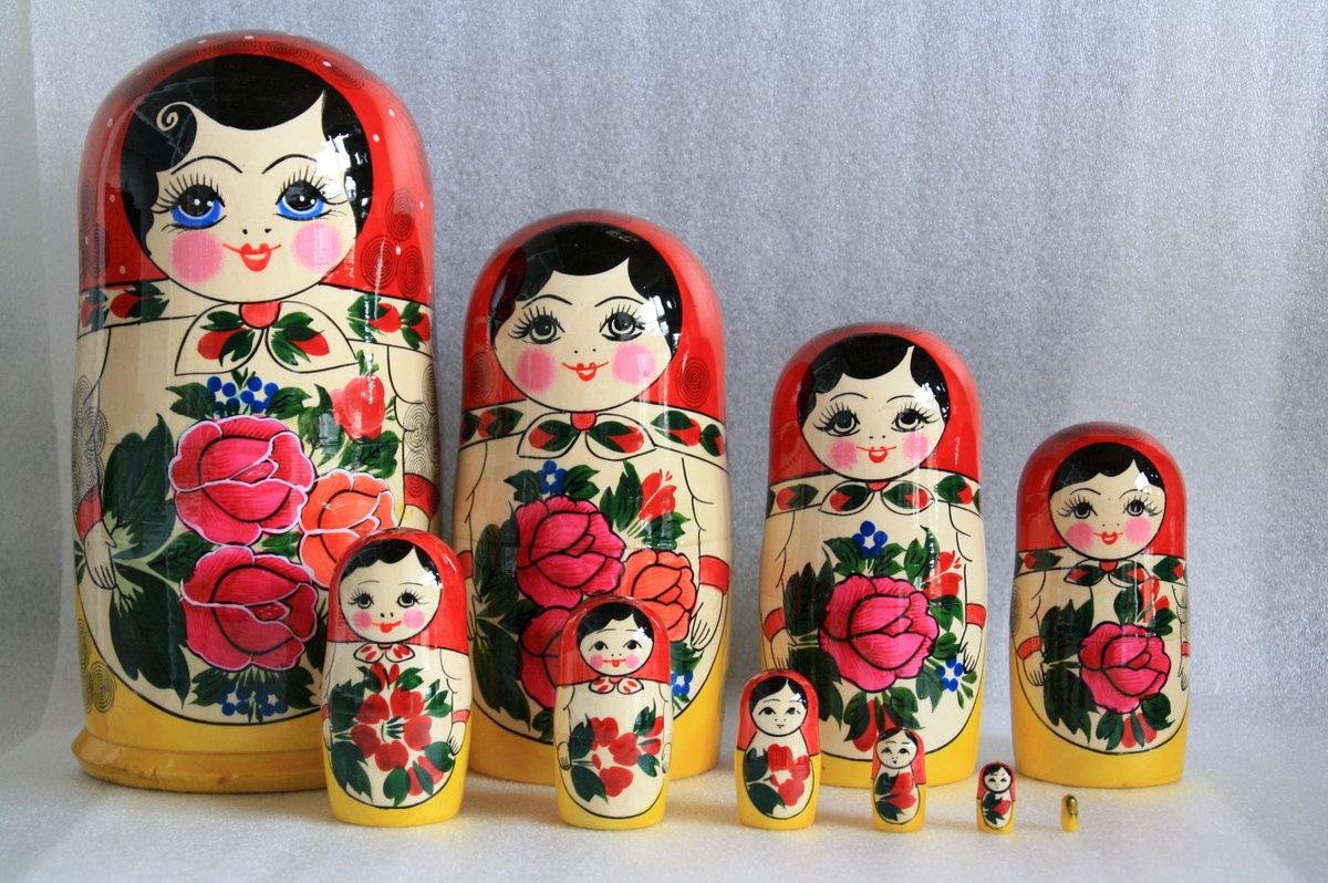 Фото русская народная игрушка матрешка