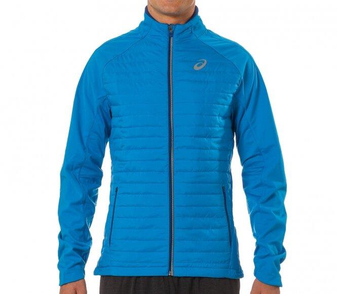Куртка для бега должна удобно сидеть и хорошо согревать, несмотря на небольшую толщину материала.