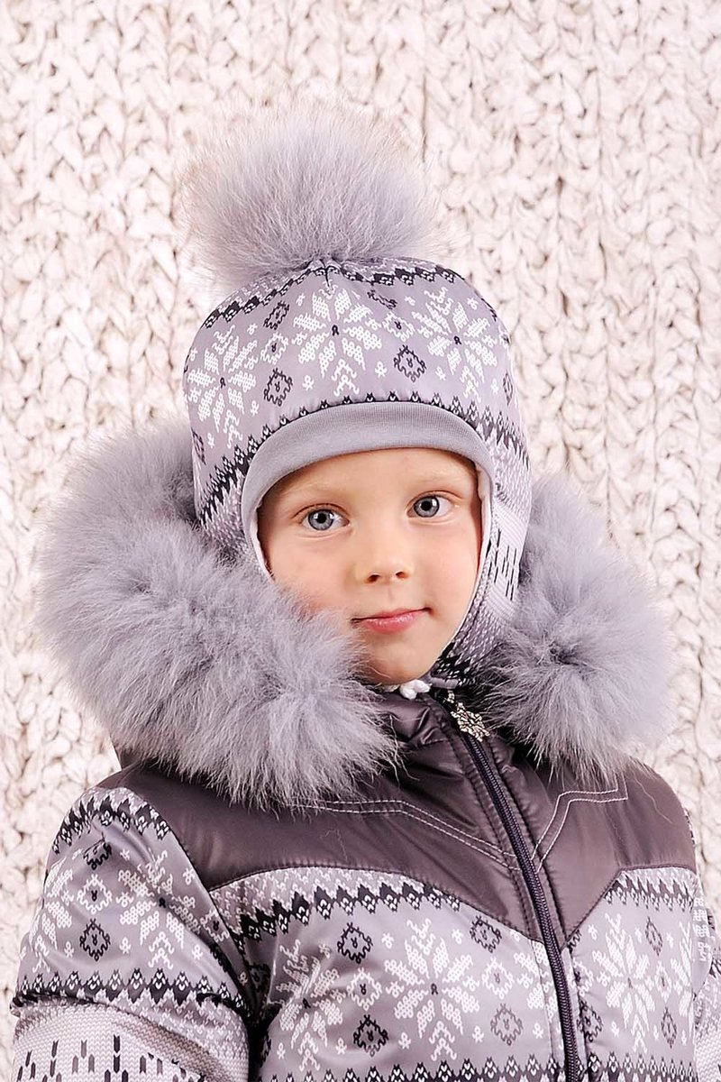 Теплая шапочка согреет снежной зимой