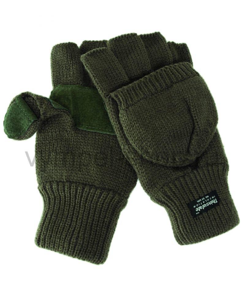 перчатки варежки с откидным верхом купить