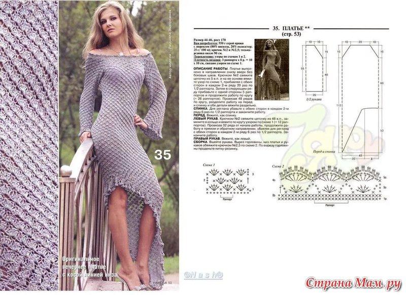 Вязание летних платьев и юбок