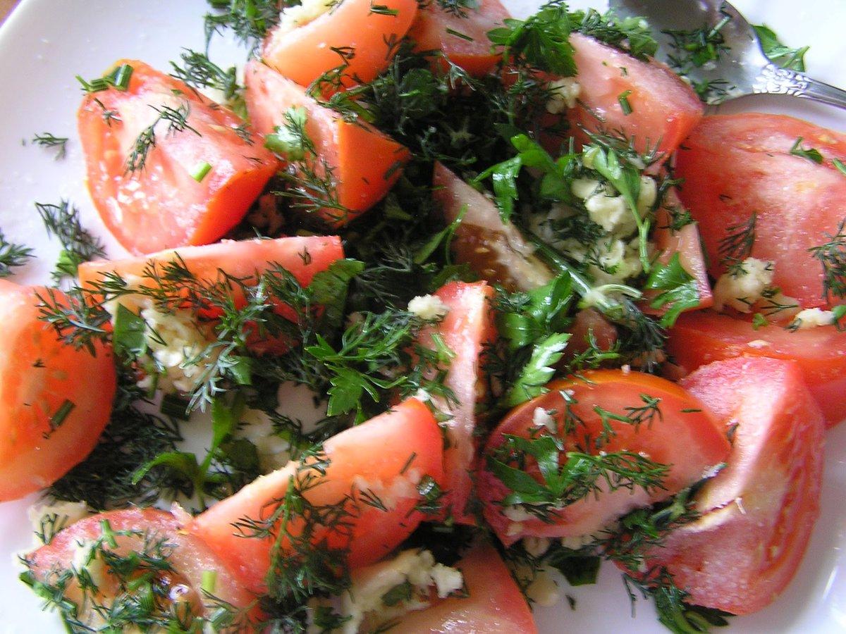 помидоры быстрой засолки рецепт с фото собрали