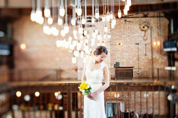Свадьба в стиле лофт - новый тренд для креативных пар.