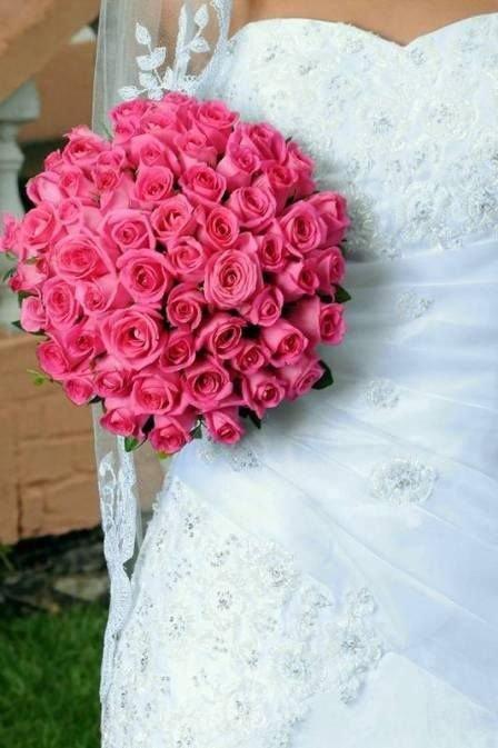 Как сделать свадебный букет из роз своими руками.