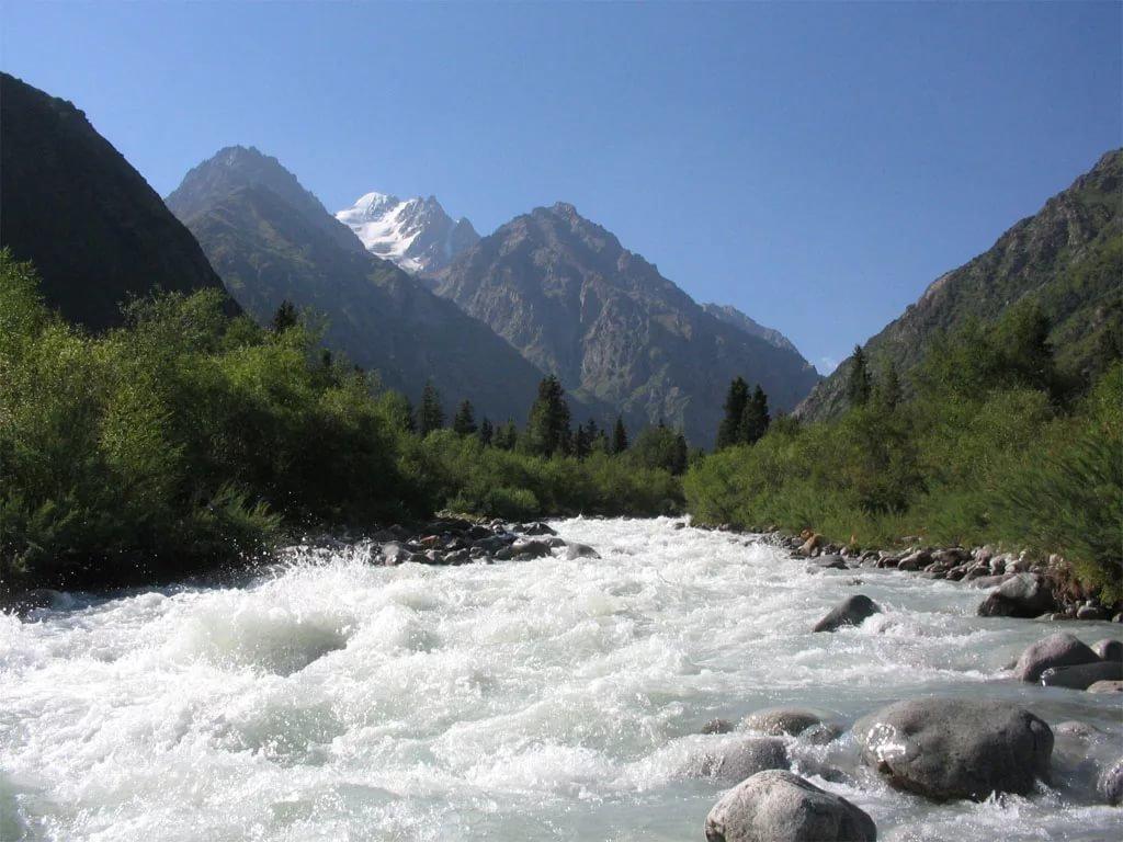 картинки горной реки терек следствие симптом