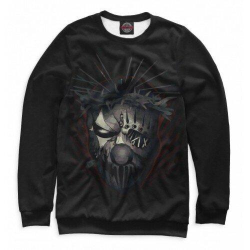 Мужской свитшот 3D Slipknot