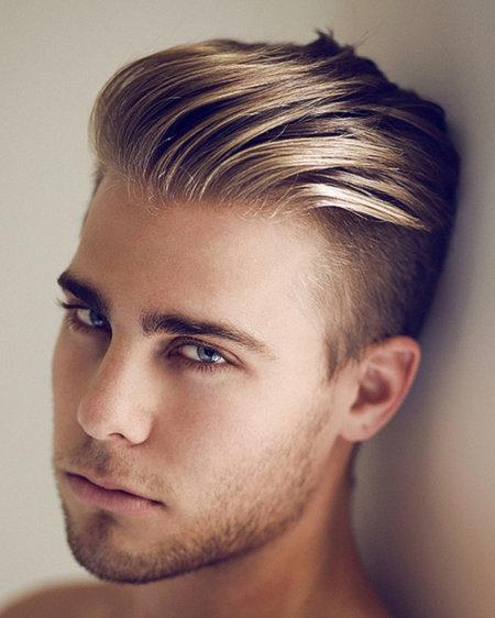 Фото мужских причесок для подростков