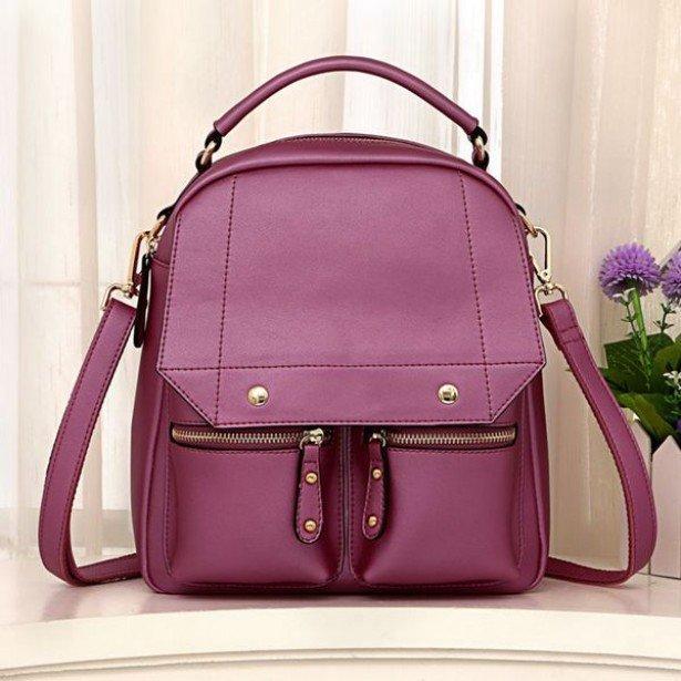 розовый женский рюкзак Olivia