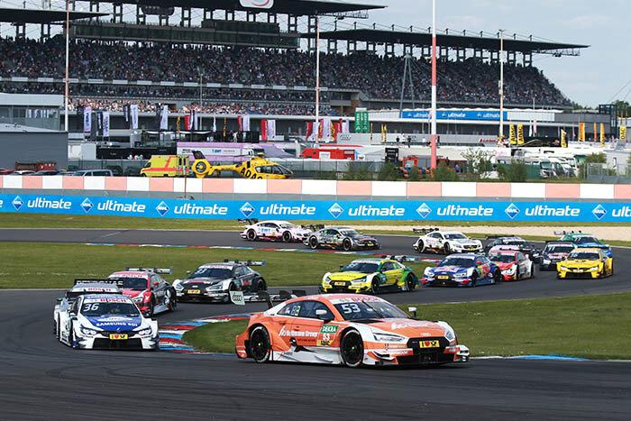 По итогам воскресной гонки пять пилотов Audi заняли места в семерке лидеров.