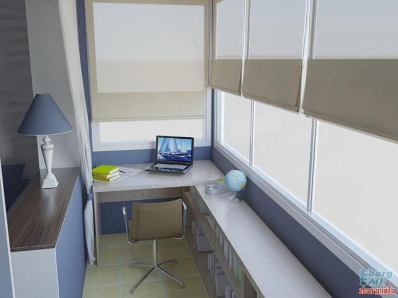 Обустройство балкона и лоджии.