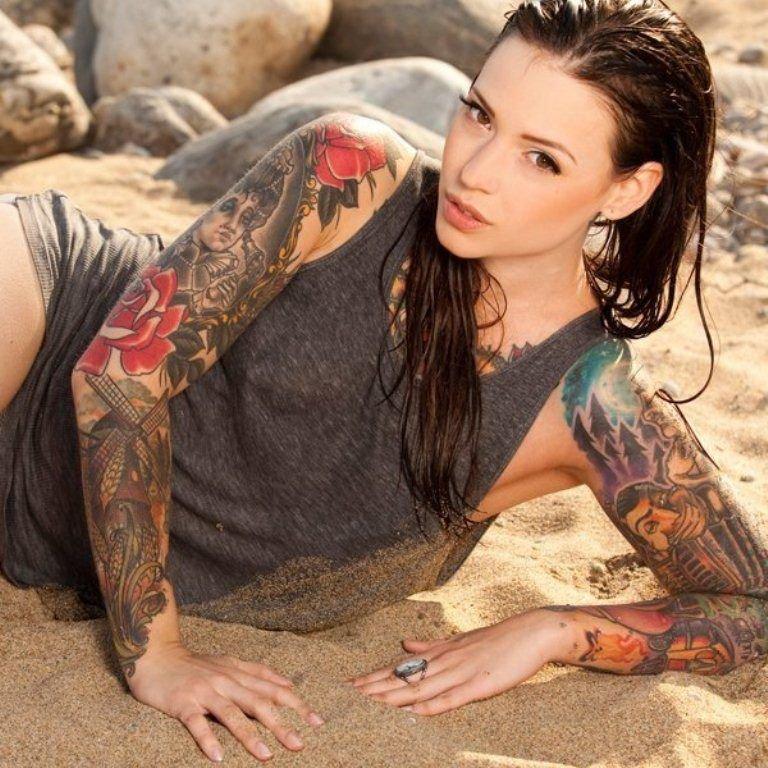 Знакомства с татуированной