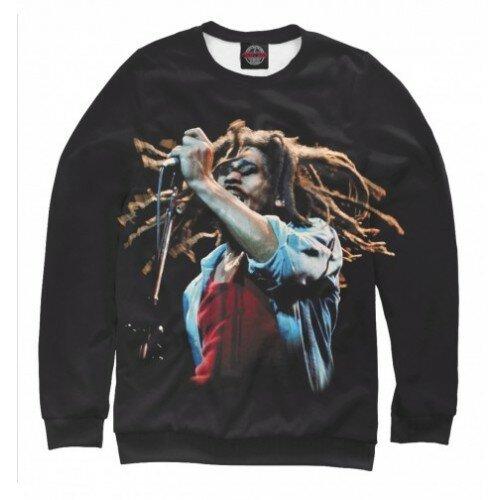 Женский свитшот 3D Bob Marley