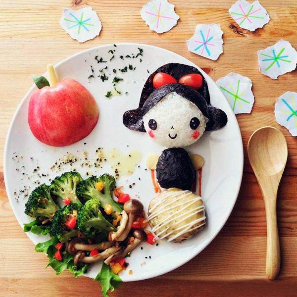 картинки сделанные из еды целью