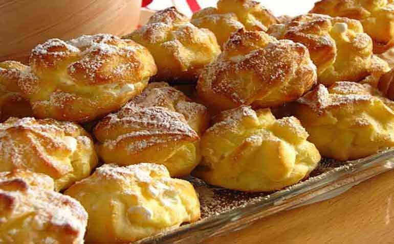 Заварные пирожные: рецепт с фото 54