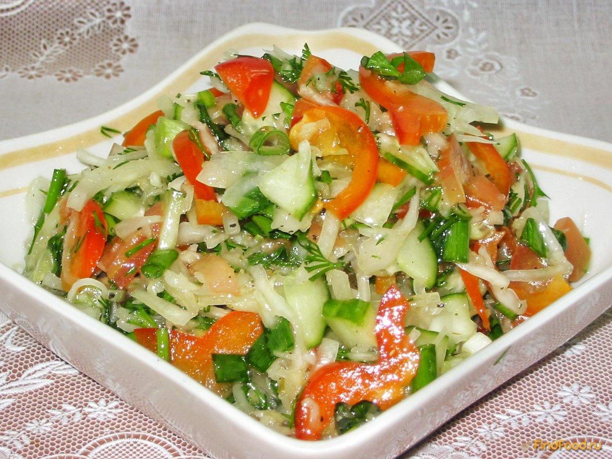 вкусный салат с капустой рецепт