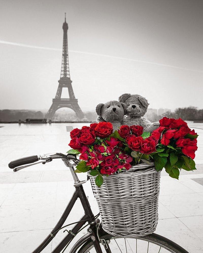 Днем, с днем рождения картинки париж