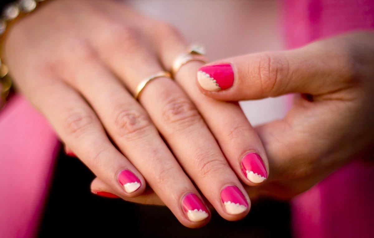 Идеи Маникюра На Маленькие Ногти