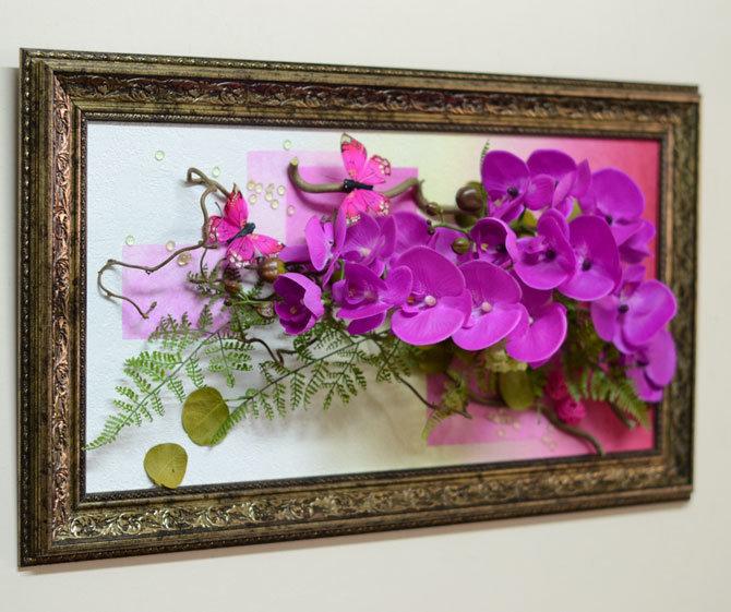 Открытки из искусственных цветов