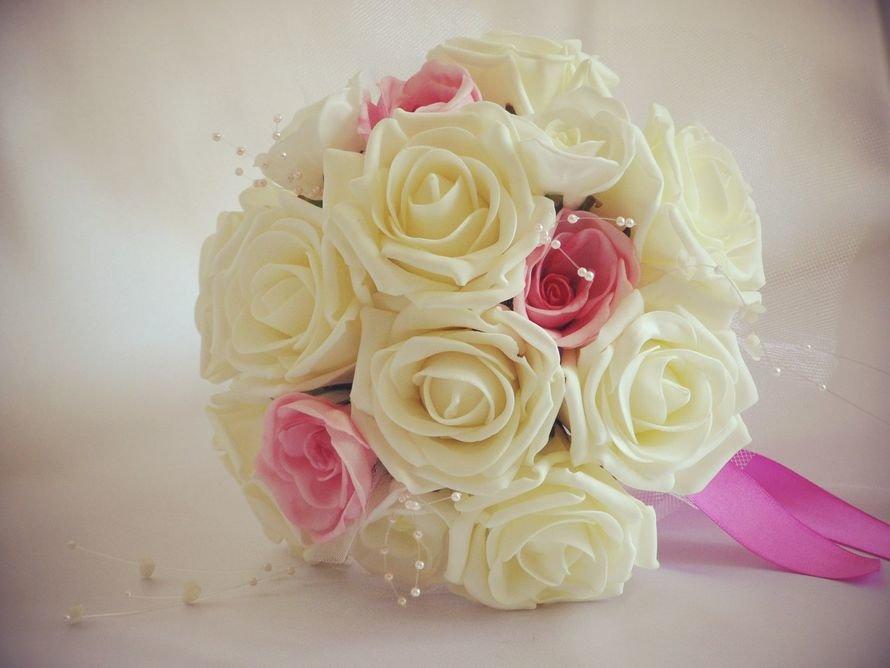 Как сделать свадебные букеты для невесты, 100 синих роз