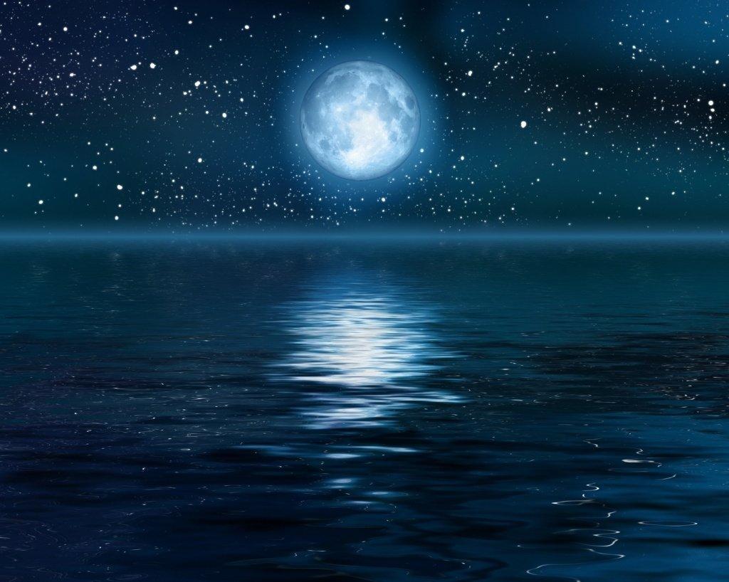 Картинки ночка лунная, итальянском доброе утро