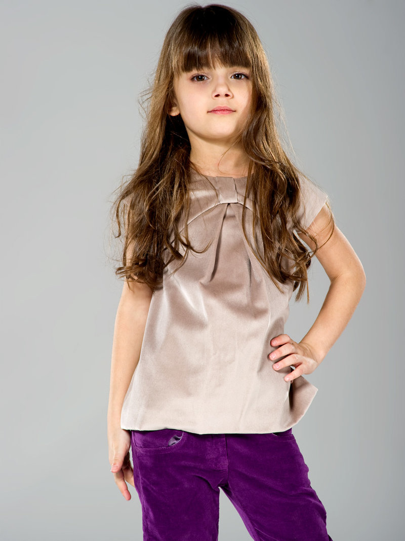 стильная блузка для девочек